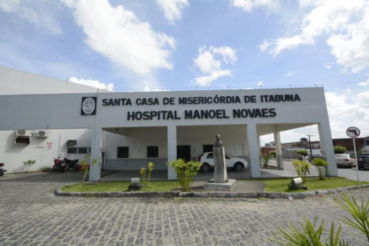 Criança está internada no Hospital Manoel Novaes   Foto: Divulgação   SCMI - Foto: Divulgação   SCMI