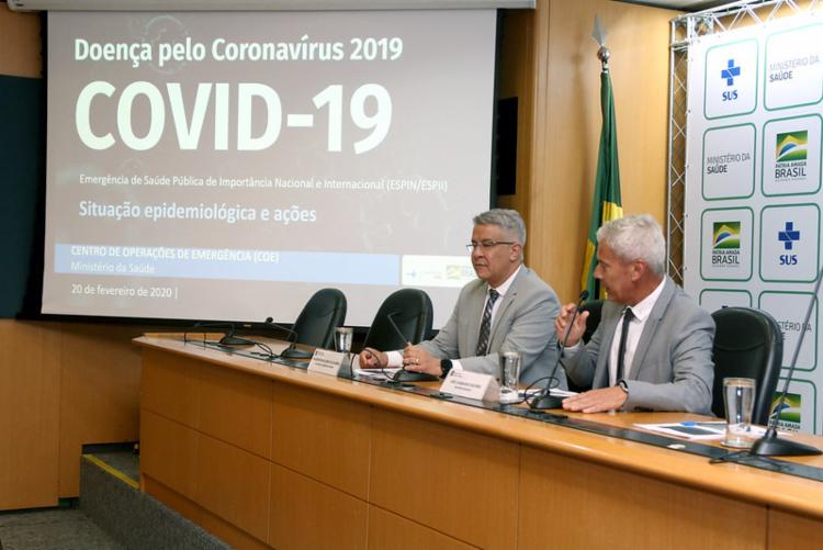 A ideia é agilizar os exames diante do crescimento de casos no Brasil   Foto: Erasmo Salomão   MS - Foto: Erasmo Salomão   MS