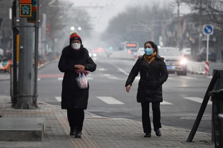 Total de mortes na China pelo novo coronavírus chegou a 2.118   Foto: Greg Baker   AFP - Foto: Greg Baker   AFP
