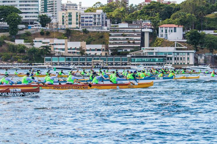 A prova tem largada às 7h deste sábado, saindo em frente ao clube, na Barra   Foto: Yacht Clube da Bahia   Divulgação - Foto: Yacht Clube da Bahia   Divulgação