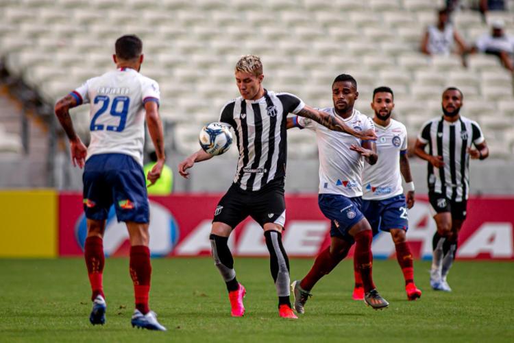 Tricolor sofreu o empate aos 48 do segundo tempo   Foto: Stephan Eilert   Ceará Sporting Club - Foto: Stephan Eilert   Ceará Sporting Club