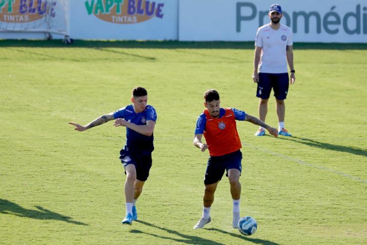 Arthur Rezende foi um dos atletas que integraram a preparação dos profissionais | Foto: Felipe Oliveira | EC Bahia - Foto: Felipe Oliveira | EC Bahia