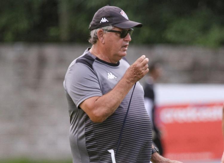 O treinador revelou que planeja dar folga aos jogadores somente no fim de semana | Foto: Letícia Martins | EC Vitória - Foto: Letícia Martins | EC Vitória