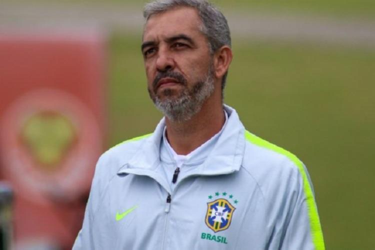 Vilhena já acumulou passagens por Athletico Paranaense, Atlético Mineiro, Cruzeiro e América-MG   Foto: Divulgação   CBF - Foto: Divulgação   CBF