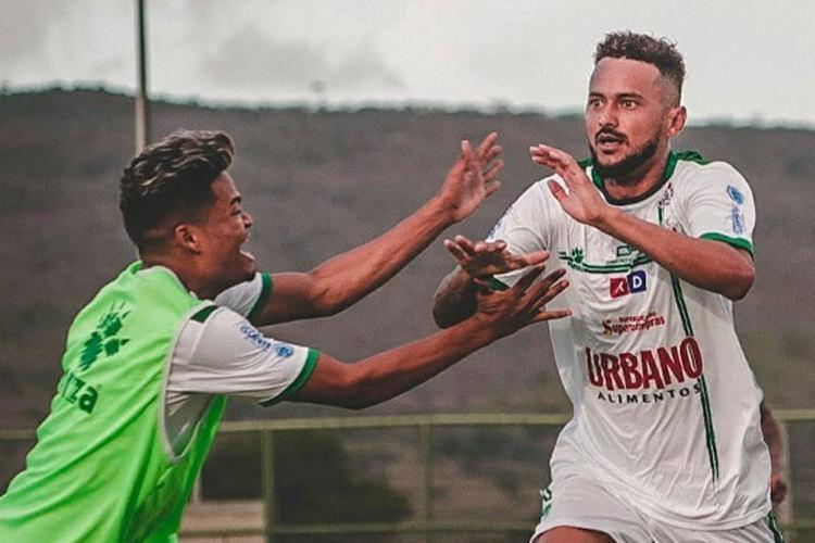 Jardson Sapé marcou o único gol da partida, que garantiu a classificação da equipe sergipana | Foto: Wendell Rezende | Lagarto FC - Foto: Wendell Rezende | Lagarto FC