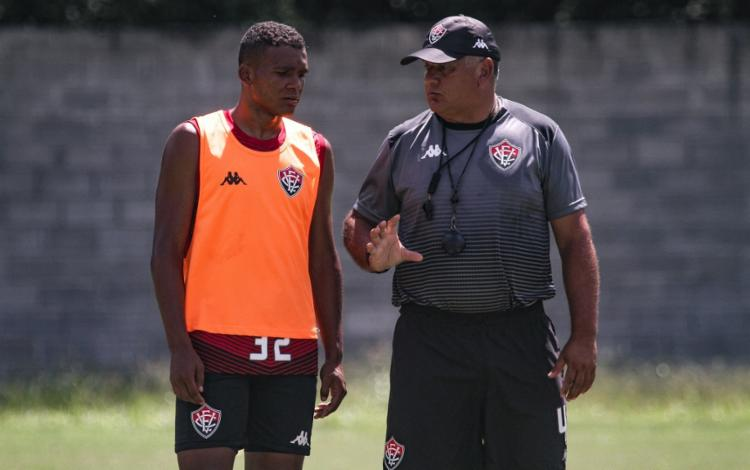 O plantel segue se preparando para o duelo contra Atlético de Alagoinhas | Foto: Letícia Martins | EC Vitória - Foto: Letícia Martins | EC Vitória