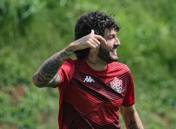 Meia Fernando Neto tem se destacado no início de temporada do Leão | Foto: Letícia Martins | EC Vitória - Foto: Letícia Martins | EC Vitória