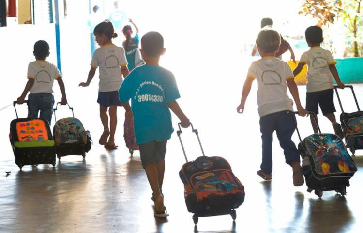 O crescimento foi impulsionado pelas matrículas em creches | Foto: Elza Fiúza | Agência Brasil - Foto: Elza Fiúza | Agência Brasil
