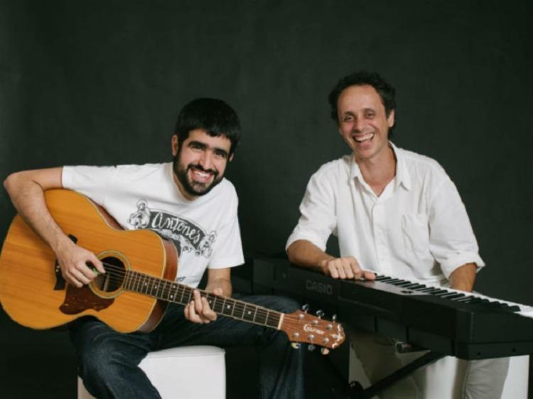 Duo formado por Eric Assmar e Jelber Oliveira   Foto: Divulgação - Foto: Divulgação