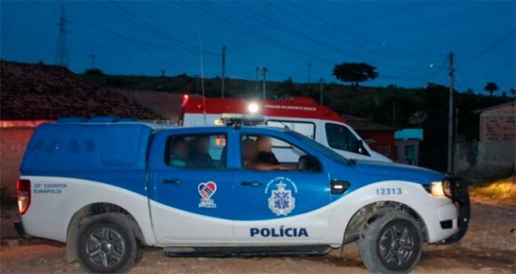 Homicídio foi impedido por policiais que estiveram no local | Foto: Reprodução | Radar 64 - Foto: Reprodução | Radar 64