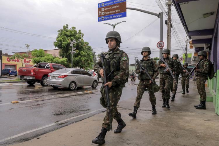 Decisão foi tomada após reunião no Ministério Público do Estado | Foto: Jarbas Oliveira | AFP - Foto: Jarbas Oliveira | AFP