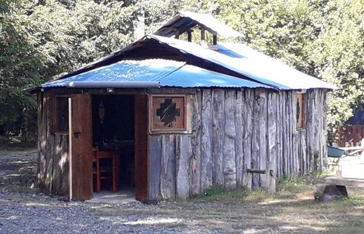 Ruka reconstitui casa tradicional dos Mapuches | Foto: Thaís Seixas | Ag. A TARDE