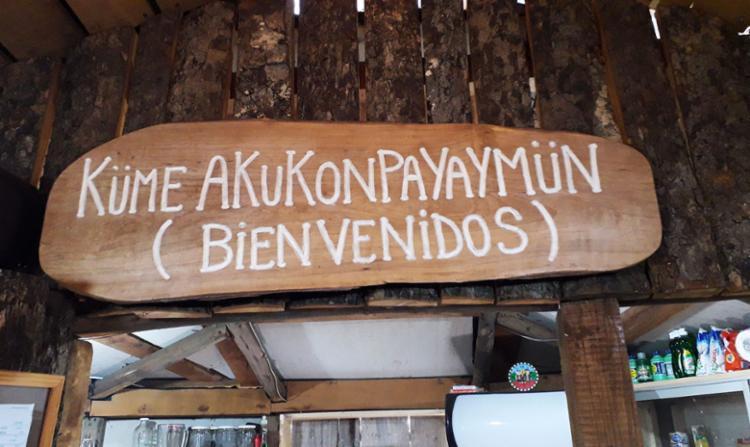 Ruka reúne placas com idioma Mapuche | Foto: Thaís Seixas | Ag. A TARDE