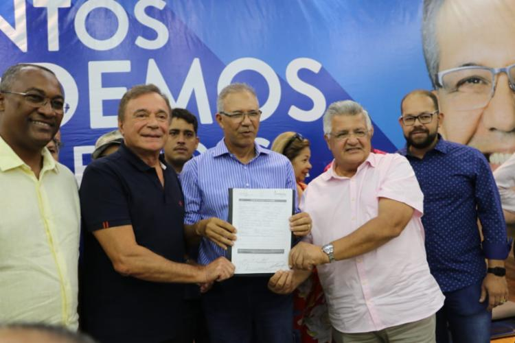 Ato teve a presença do senador do Podemos pela Paraná e de diversas lideranças da região. Foto: Divulgação - Foto: Divulgação