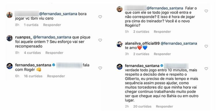 Fernandão diz continuar trabalhando para a oportunidade surgir no Bahia ou em outro clube | Foto: Reprodução | Instagram
