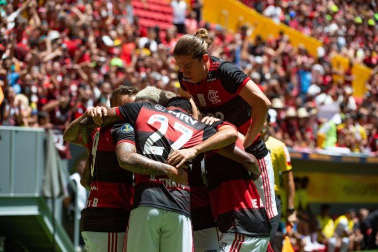 Partida foi disputada entre o campeão do Brasileirão e da Copa do Brasil, em 2019 | Alexandre Vidal | Flamengo - Foto: Alexandre Vidal | Flamengo