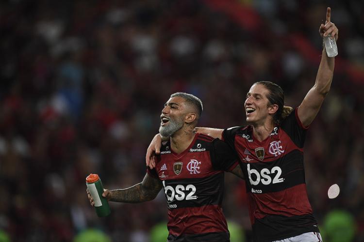 Sob comando de Jesus, essa é a 3ª taça da equipe carioca em dois meses de temporada | Foto: Mauro Pimentel | Ag. A TARDE - Foto: Mauro Pimentel | Ag. A TARDE