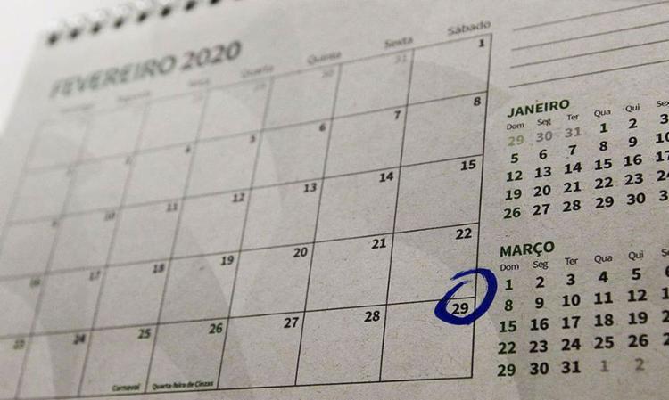 2020 é o 504º ano com 366 dias da Era Cristã | Foto: Fabio Rodrigues Pozzebom | Agência Brasil - Foto: Fabio Rodrigues Pozzebom | Agência Brasil