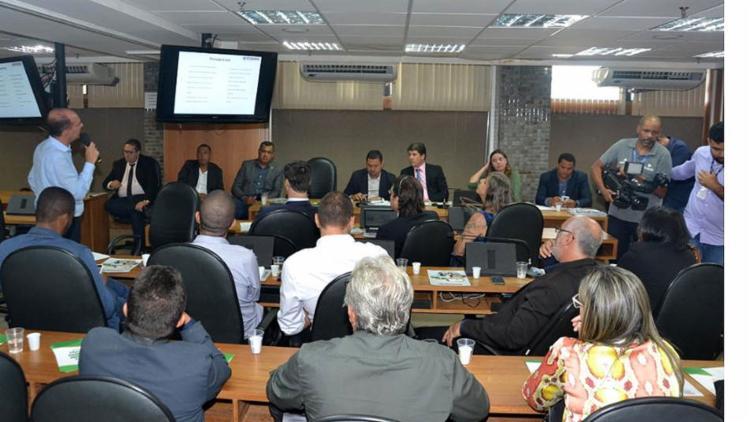 O encontro foi conduzido pelo presidente da frente, deputado estadual Zé Cocá (PP) | Foto: Juliana Andarde | Agência ALBA - Foto: Juliana Andarde | Agência ALBA