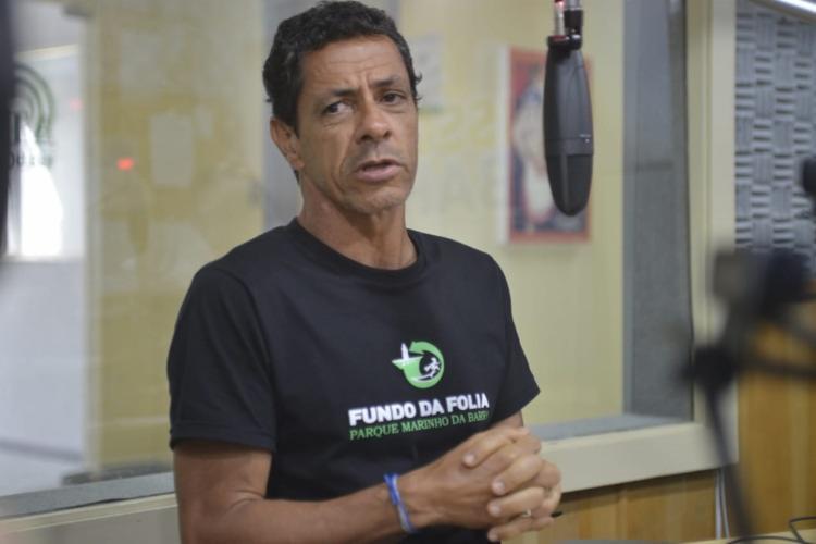 Bernardo Mussi é um dos idealizadores do projeto Fundo da Folia | Foto: Shirley Stolze | Ag. A TARDE - Foto: Shirley Stolze | Ag. A TARDE
