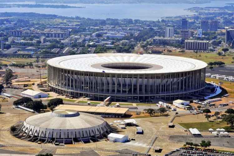 Estádio Mané Garrincha, em Brasília, recebeu partidas de mando de campo vendido no último Brasileirão | Foto: Divulgação - Foto: Divulgação