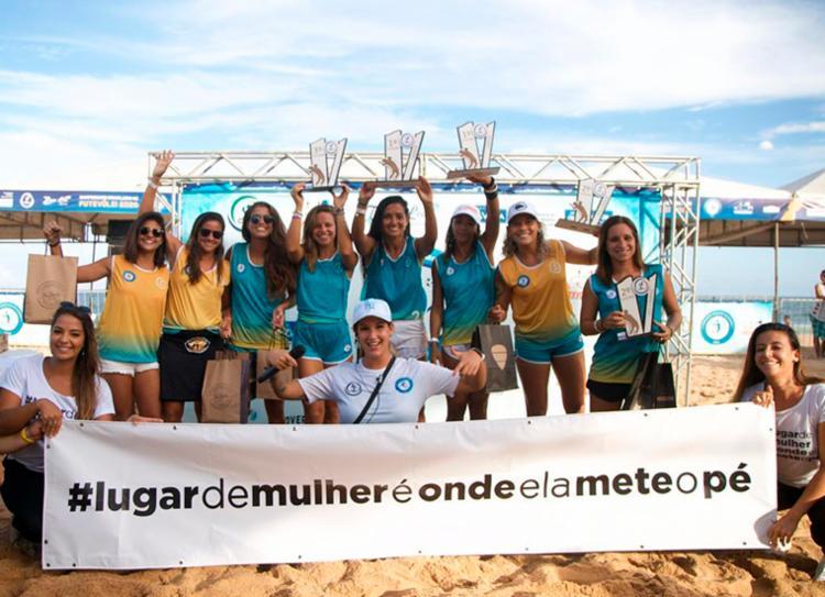 Evento foi marcado também pela campanha de representação feminina no esporte | Foto: Bruno Concha | Divulgação