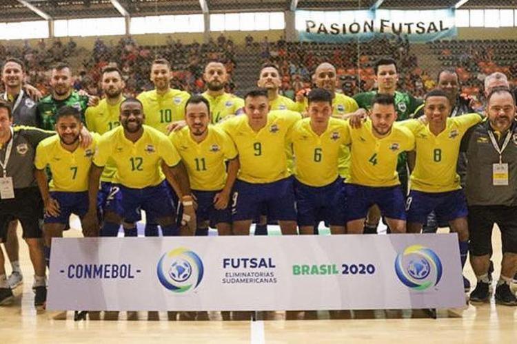 O Brasil volta a jogar pelas eliminatórias no próximo sábado, 8   Foto: CBFS   Divulgação - Foto: CBFS   Divulgação