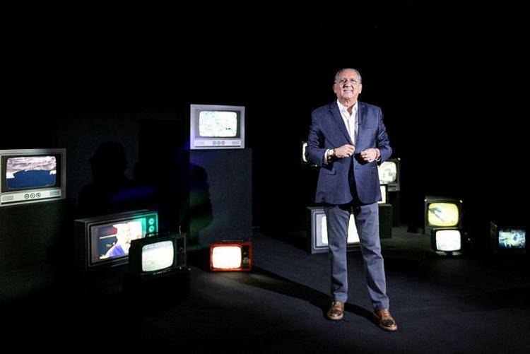 Narrador tem mais de 45 anos de carreira   Ramon Vasconcelos   Rede Globo - Foto: Ramon Vasconcelos   Rede Globo