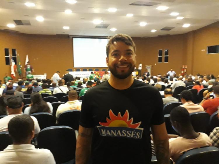 Postulante participa de evento na UPB | Foto: Aparecido Silva | Ag. A TARDE - Foto: Aparecido Silva | Ag. A TARDE