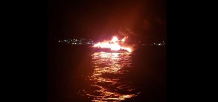 Incêndio ocorreu na noite da sexta-feira | Foto: Reprodução | Redes Sociais - Foto: Reprodução | Redes Sociais