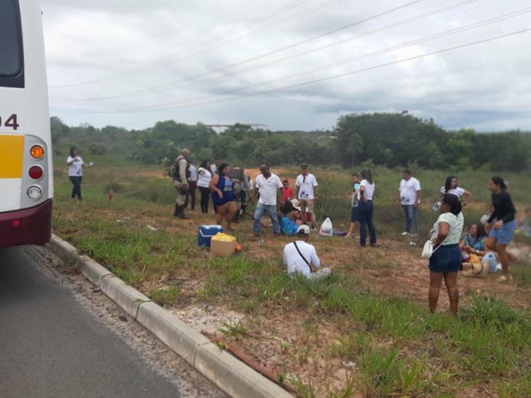 Passageiros faziam parte de projeto 'Para Praia'   Foto: Divulgação   PMBA - Foto: Divulgação   PMBA
