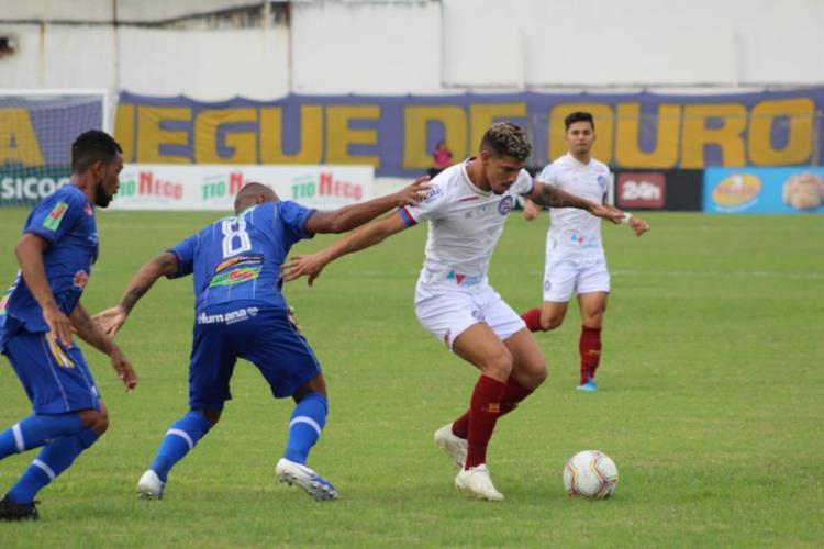 Partida foi realizada no Estádio José Rocha | Foto: Rafael Machaddo | Divulgação | EC Bahia - Foto: Rafael Machaddo | Divulgação | EC Bahia