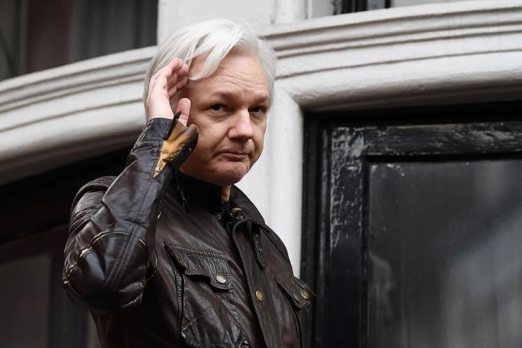 Fundador do site Wikileaks pode ser extraditado para os EUA - Foto: Justin Tallis | AFP