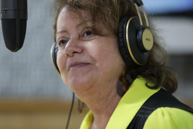 Julieta Palmeira entrevistada no programa Isso é Bahia   Foto: Raul Spinassé   Ag. A TARDE - Foto: Raul Spinassé   Ag. A TARDE
