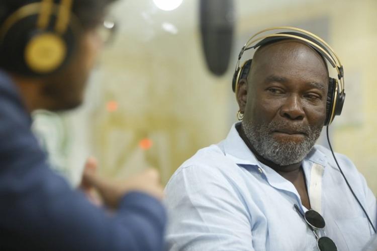 Artista foi o entrevistado do programa Isso é Bahia, na rádio A TARDE FM | Rafael Martins | Ag. A TARDE - Foto: Rafael Martins | Ag. A TARDE