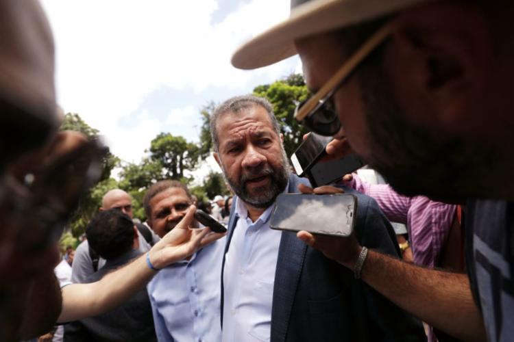 Lupi disse que eventual rompimento depende exclusivamente da vontade do governador   Foto: Raul Spinassé   Ag. A TARDE - Foto: Raul Spinassé   Ag. A TARDE