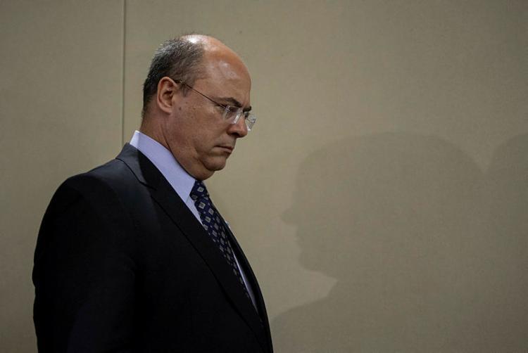 Witzel revogou lei dele mesmo, regulamentada em 2015 | Foto: Mauro Pimentel | AFP - Foto: Mauro Pimentel | AFP