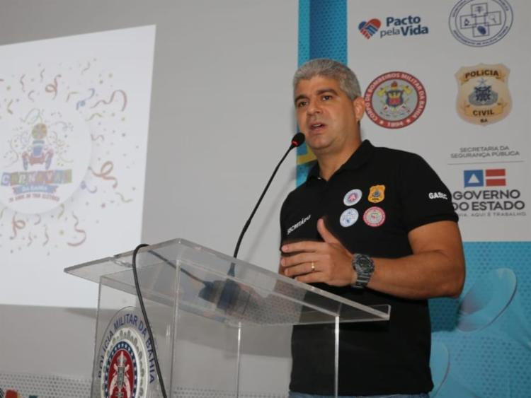 Maurício Barbosa em apresentação no Quartel dos Aflitos | Foto: Vitor Barreto | SSP-BA - Foto: Vitor Barreto | SSP-BA