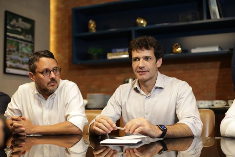 O ministro manteve reunião com trade turístico local | Foto: Raul Spinassé | Ag A TARDE - Foto: Raul Spinassé | Ag A TARDE