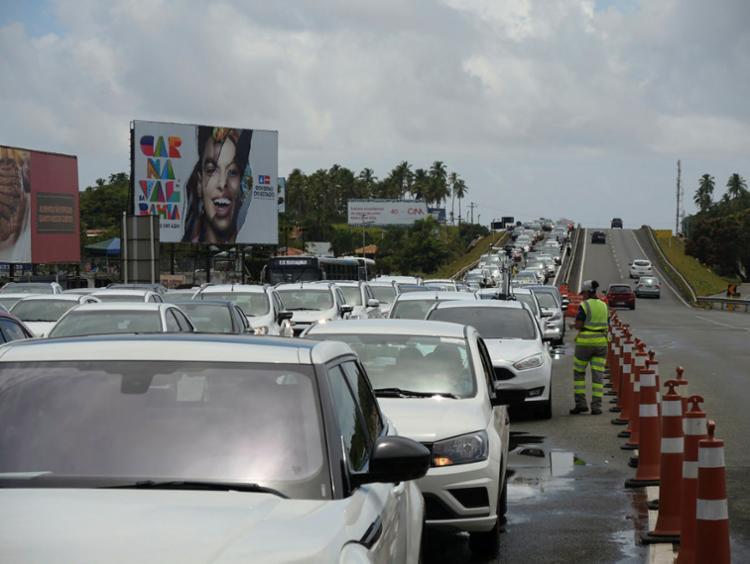 Em dez anos, mais de 58 mil pessoas se envolveram em acidentes | Foto: Xando Pereira | Ag. A TARDE - Foto: Xando Pereira | Ag. A TARDE