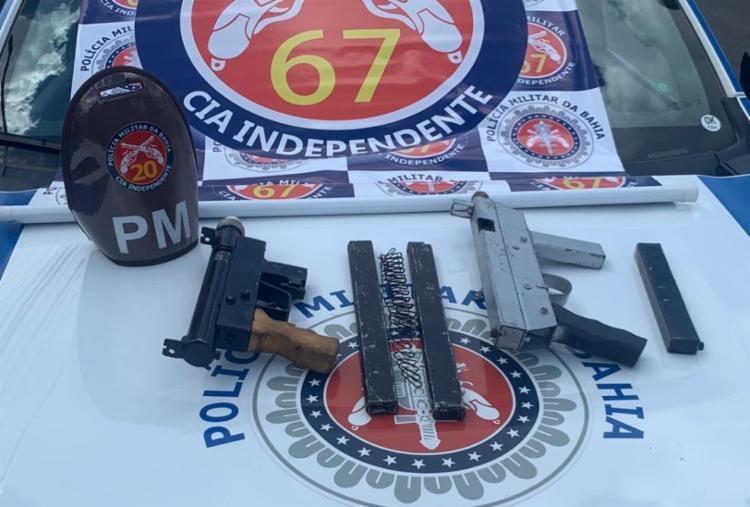 O armamento seria transportado para o município de Coração de Maria | Foto: Divulgação | Foto: SSP-BA - Foto: Divulgação | SSP