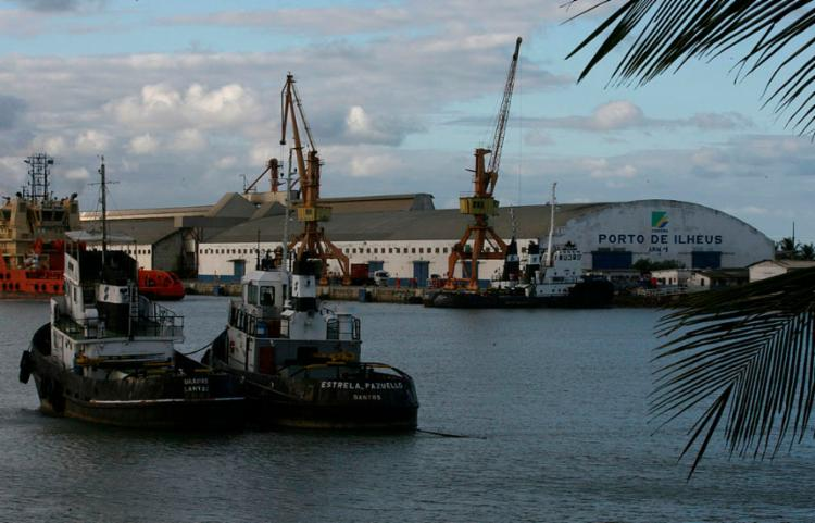 Navio vai atracar no Porto de Malhado, em Ilhéus   Foto: Joá Souza   Ag. A TARDE - Foto: Joá Souza   Ag. A TARDE