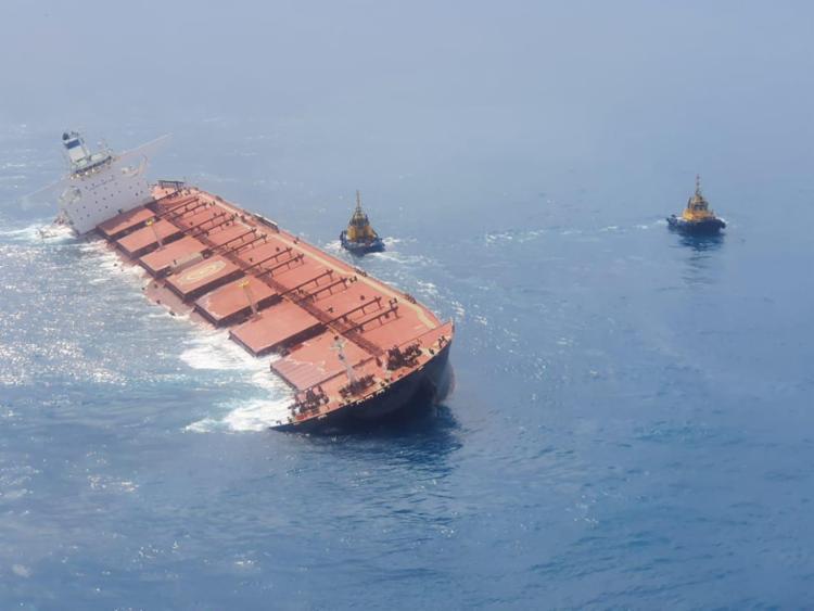 Navio MV Stella Banner tombou próximo a costa brasileira | Foto: Divulgação - Foto: Divulgação