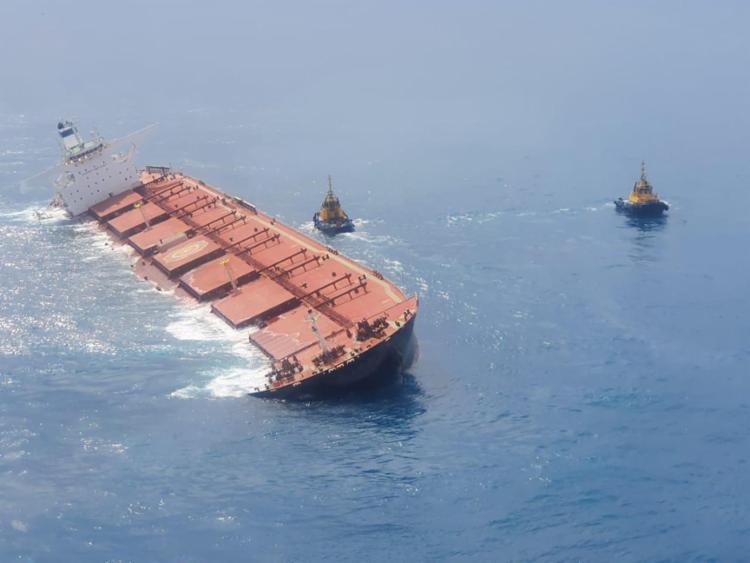 Medida é para evitar que óleo e combustível sejam liberados no mar   Foto: Divulgação - Foto: Divulgação