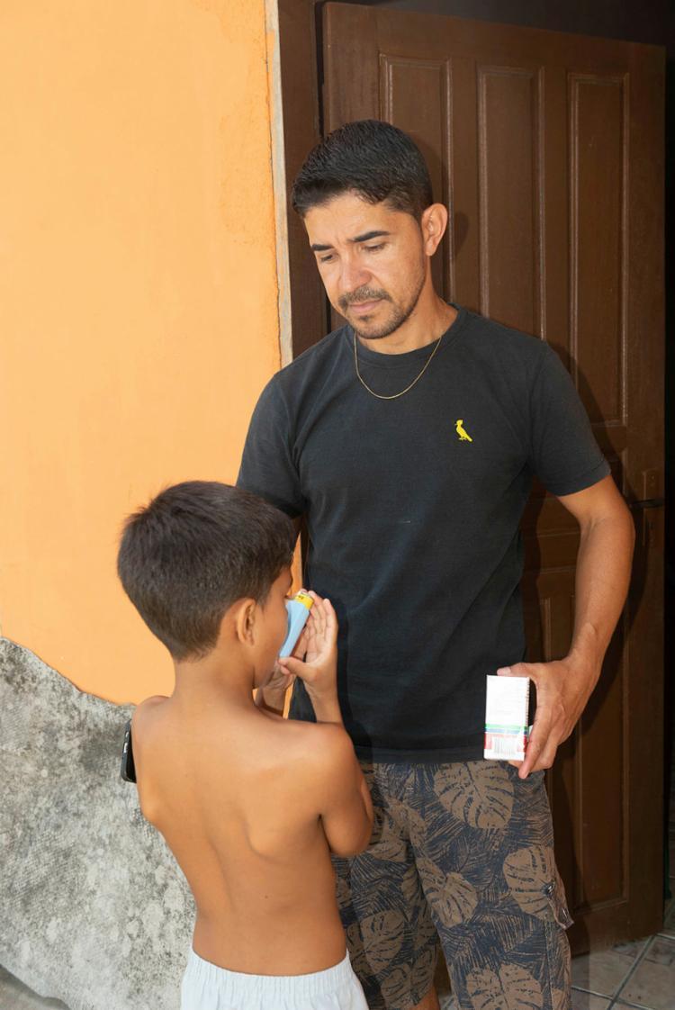 Garoto com doença respiratória tem mal agravado em Porto Seguro