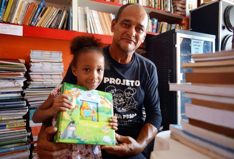 Lázaro criou projeto em Brotas há 23 anos   Fotos: Shirley Stolze   Ag. A TARDE - Foto: Shirley Stolze   Ag. A TARDE