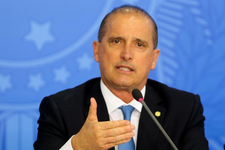 Onyx Lorenzoni afirmou que devem retornar entre 30 e 40 brasileiros | Foto: Wilson Dias | Agência Brasil - Foto: Wilson Dias | Agência Brasil