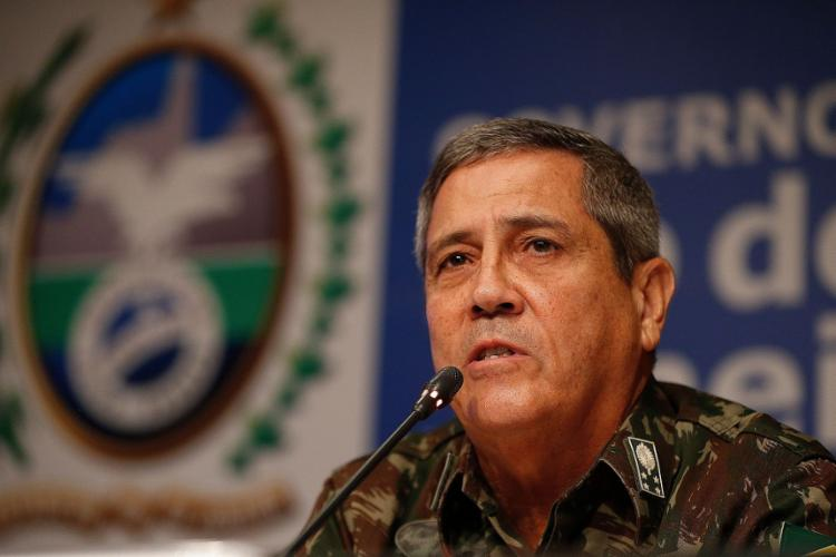 Aos 62 anos, Braga Netto é militar da ativa e chefe do Estado-Maior do Exército | Foto: Tânia Rêgo | Agência Brasil - Foto: Tânia Rêgo | Agência Brasil