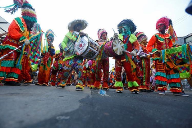 Manifestação acontece há 10 anos e anuncia chegada do Carnaval | Foto: Rafael Martins | Ag. A TARDE - Foto: Rafael Martins | Ag. A TARDE