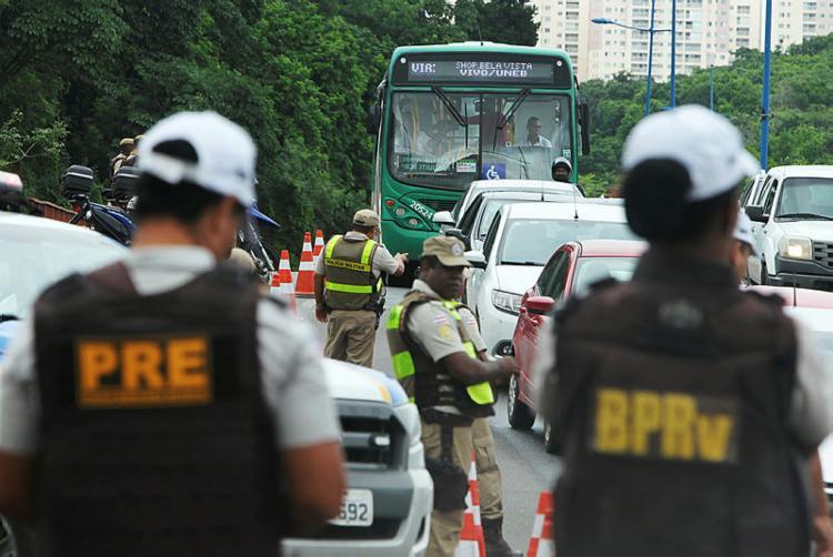 Ação ostensiva segue até a Quarta-feira de Cinzas   Foto: Elói Corrêa GOVBA - Foto: Elói Corrêa GOVBA